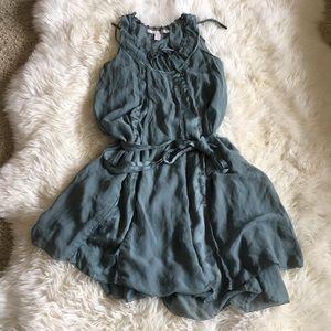 Stella McCartney for HM Teal Green Silk Dress S